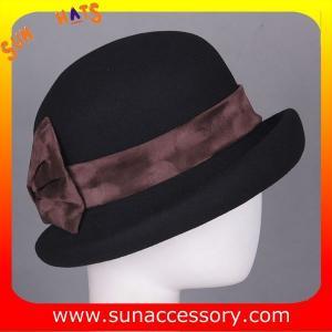 Best 6811147 Sun Accessory customized  winner  fashion 100% Australia wool felt  hats, women hats and caps wholesaling wholesale