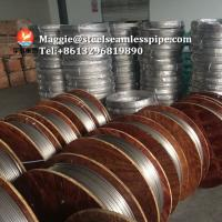 Cheap Stainless Steel Coil Tubing ASTM A269 TP304 TP304L TP316L TP316Ti TP321 TP347H for sale