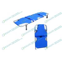 Best First Aid Ambulance Stretcher , aluminum alloy collapsible stretcher with outrigger wholesale