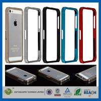 Best Aluminum Metal Slide-On Frame Bumper Apple Cell Phone Cases Cover For Iphone 5 wholesale