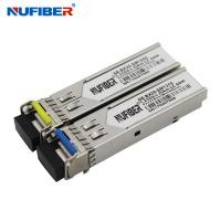 Best LC Connector 1.25G SFP Transceiver 20km 1310nm 1550nm 3 Years Warranty wholesale