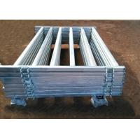 China Pre Hot Dipped Galvanized Sheep Cattle Panels Livestock Fence Panels 5Rails With Oval Tube 30X60MM on sale