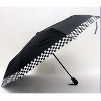 Best Medium Sized Automatic Up And Down UmbrellaBalck Metal Frame With Fibreglass Ribs wholesale