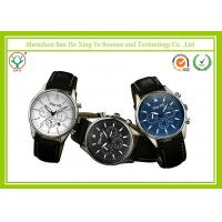 China Outdoor Leather Strap Casual Sport Watches With Japan Waterproof Movt wholesale
