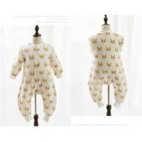 Buy cheap Decorated Colorful Printing Newborn Baby Jumpsuit Breathable Eco - Friendly from wholesalers