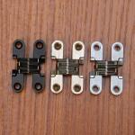 Best Zinc Alloy Hidden Hinges Invisible Concealed Cross Door Hinge wholesale