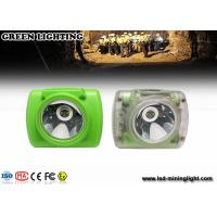 China High performance rechargeable mining cap lamps 0.7W 190mA energy saving on sale