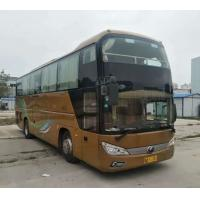 China 54 Seats 2014 One And Half Deck Used Diesel Bus , Airbag Yutong Coach Buses on sale