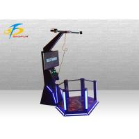 China VR Shooting Game Mini HTC Standing Platform 9D Simulator Support Coin System on sale