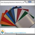 Best Building Aluminium Alloy Sheet RAL Color Coated Aluminium Sheet 1000mm Width wholesale