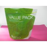Best Recycled Laminated Green Stand Up Pouch Bag Ziplock for Facial Cream wholesale