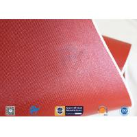 """Best Silicone Coated Fiberglass Fabric Thermal Insulation Materials 1010GSM 51"""" wholesale"""