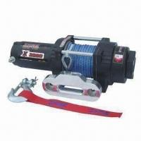 Best Auto Winch with 3000lbs Rated Line Pull and 138:1 Gear Ratio wholesale