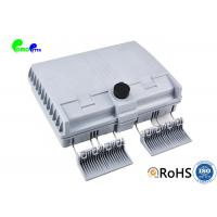 Best 12 Cores Fiber Termination Box Wall Mounted Outdoor Lockable IP55 ABS Material wholesale