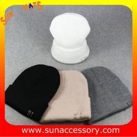 Best AK17016 Sun Accessory promotion cheap knitted beanie caps and hats  ,caps in stock MOQ only 3 pcs wholesale