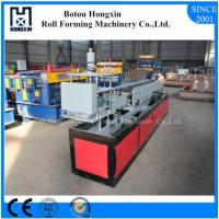 Best Automatic Shutter Door Roll Forming Machine Flying Saw Cutting System wholesale