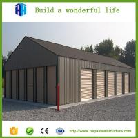 China Large span steel frame warehouse building project solution suppliers on sale