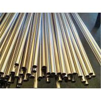 Best Black Round Cold Rolled Steel Pipe Pre Welded For Furniture / Decoration wholesale