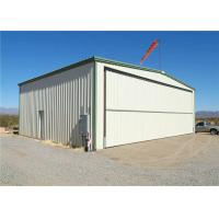 Best Q235 Q345 Low Carbon Steel Structure Hangar With Hot Dipped Galvanized wholesale