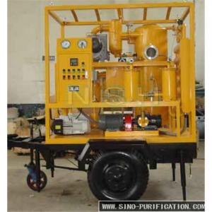 China SINO-NSH VFD Transformer  Oil Purifier on sale