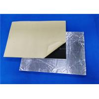 Best Rubber Foam Roof Heat Insulation / Soundproof / Sound Deadening Material For Car wholesale