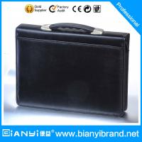 Best HOT selling A4 PU leather portfolio&briefcases wholesale