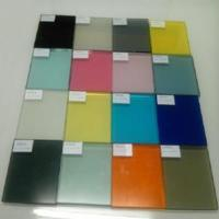 China Laminated Glass PVB Color Film Glass on sale