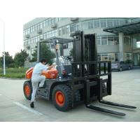 Best 6 Wheel 5 Ton Port Diesel Powered Forklift With ISUZU Energy Saving Engine wholesale