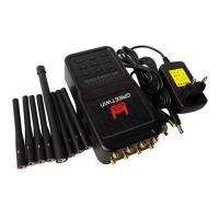 Best 5.8 G High Power Mobile Phone Jammer , ABS Shell RF Frequency Jammer Up To 20m wholesale