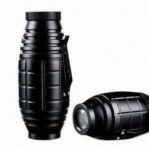Best Super Grenade-shaped Aluminum Flashlight, High Intensity White LED wholesale