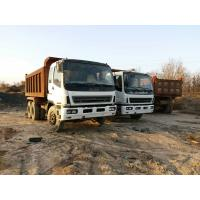 China used Isuzu 10 wheeler dump truck year 2005 on sale