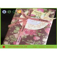 China 80gsm Coated Print Gift Wrapping Paper 50 X 75cm  For Present Package on sale