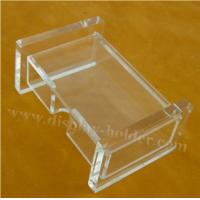 Best Engraved Logo Acrylic Name Card Holder Case wholesale