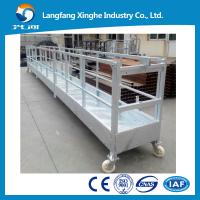 Cleaning equipment ZLP800/scaffolding platform/building glass cleaning machine