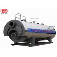 China Energy Saving Oil Steam Boiler , Induction Heating Oil Fired Steam Boiler For Hotel on sale