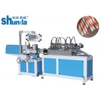 China Environmentally Friendly High Speed Paper Tube Machine With Multi - Blades Cutting on sale