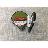 Best Custom paper clips file clips with handsome cool soldier fireman police shape design cute dog shape for kids children wholesale