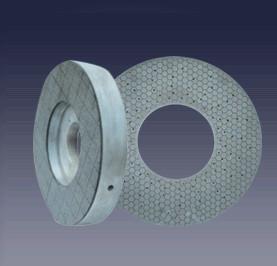 Easy Grinding Action Ceramic Bond Grinding Wheel , Flat Grinding Wheel Longer Tool Life