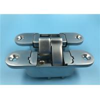 Best Zinc Alloy Adjustable 3D 180 Degree Concealed Hinge Right Open 30x110 mm wholesale
