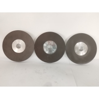 China Diameter 126.9mm Flat Shaped Cbn Grinding Wheels  For rapid edge on sale