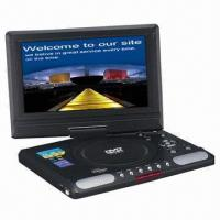 Cheap 9.8-inch Portable DVD Player with TV, USB, MPEG4, Game and Card Reader Functions for sale