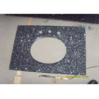 Best Blue Pearl Black Galaxy Countertop , High Gloss Granite And Stone Countertops wholesale