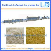Best Instant Rice/Nutritional Rice Food Production line wholesale