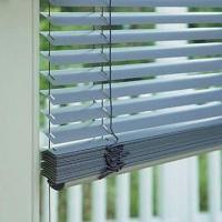 China Electric/Motorized Venetian Blind, Made of Aluminum and Wood on sale