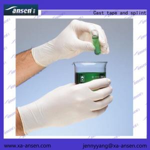 Best Examination Gloves Latex  Non-sterile,powder free, Textured (XS,S,M,L) 53.5*26*34cm wholesale