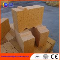 China Good Slag Resistance Alumina Silica Refractory Brick For Blast Furnace Lining on sale