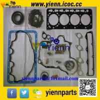 Best Kubota V3300 V3300E V3300DI piston+ piston ring+full gasket kit with head gasket for Bobcat T300 engine overhual rebuild wholesale