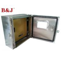 China 1.2 mm / 1.5 mm Stainless Steel Distribution Box With Customized Mounting Plate on sale