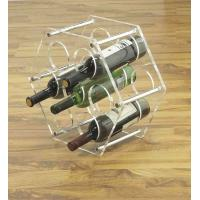 China OEM Stainless Steel, Clear Acrylic display unit  wine / beer Bottle Display Rack / Holder on sale
