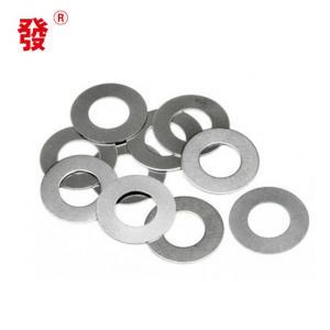 Best M2 - M56 Zinc Plain Metal Flat Washers / Metal Flat Gasket DIN125 DIN9021 wholesale